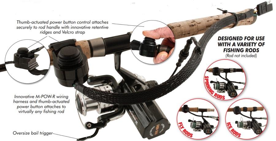 M-POW-R NK100PH Reel/ Power Harness Combo