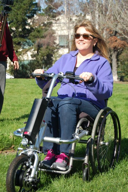 Firefly Electric Wheelchair Power Attachment