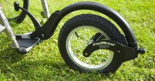 FreeWheel All Terrain Add On with Adaptor Kit for Folding Wheelchairs