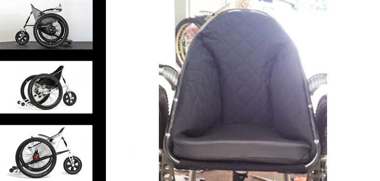 Trekinetic Hyperformer seat liner,  (child to Adult)